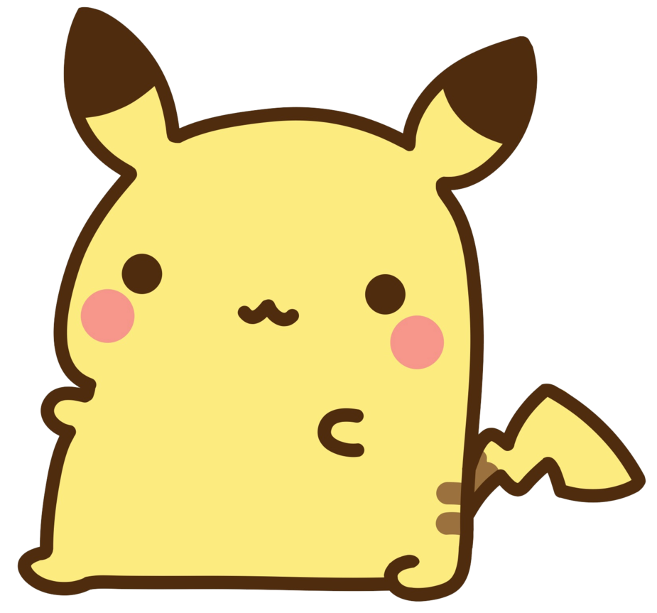 Chibi Pikachu by ItsPeacockTime on deviantART