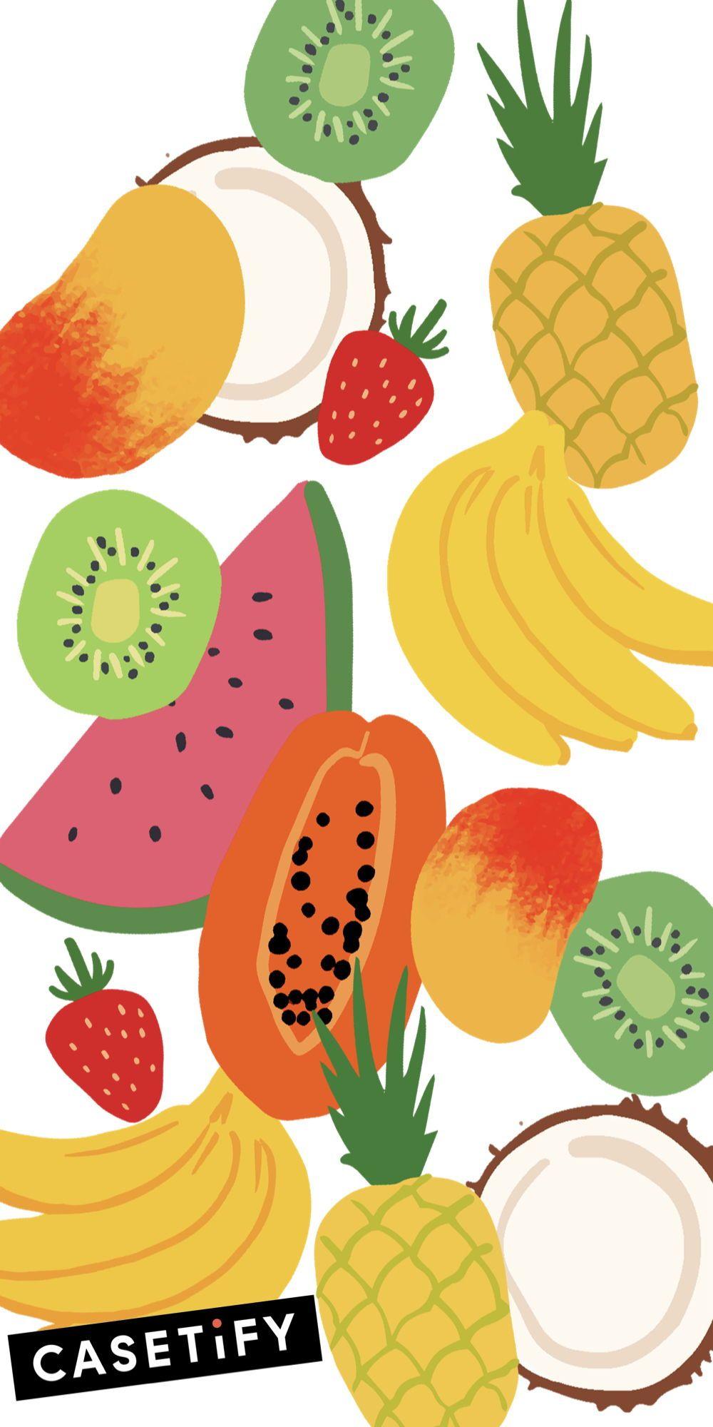 Fruit iPhone XS Case