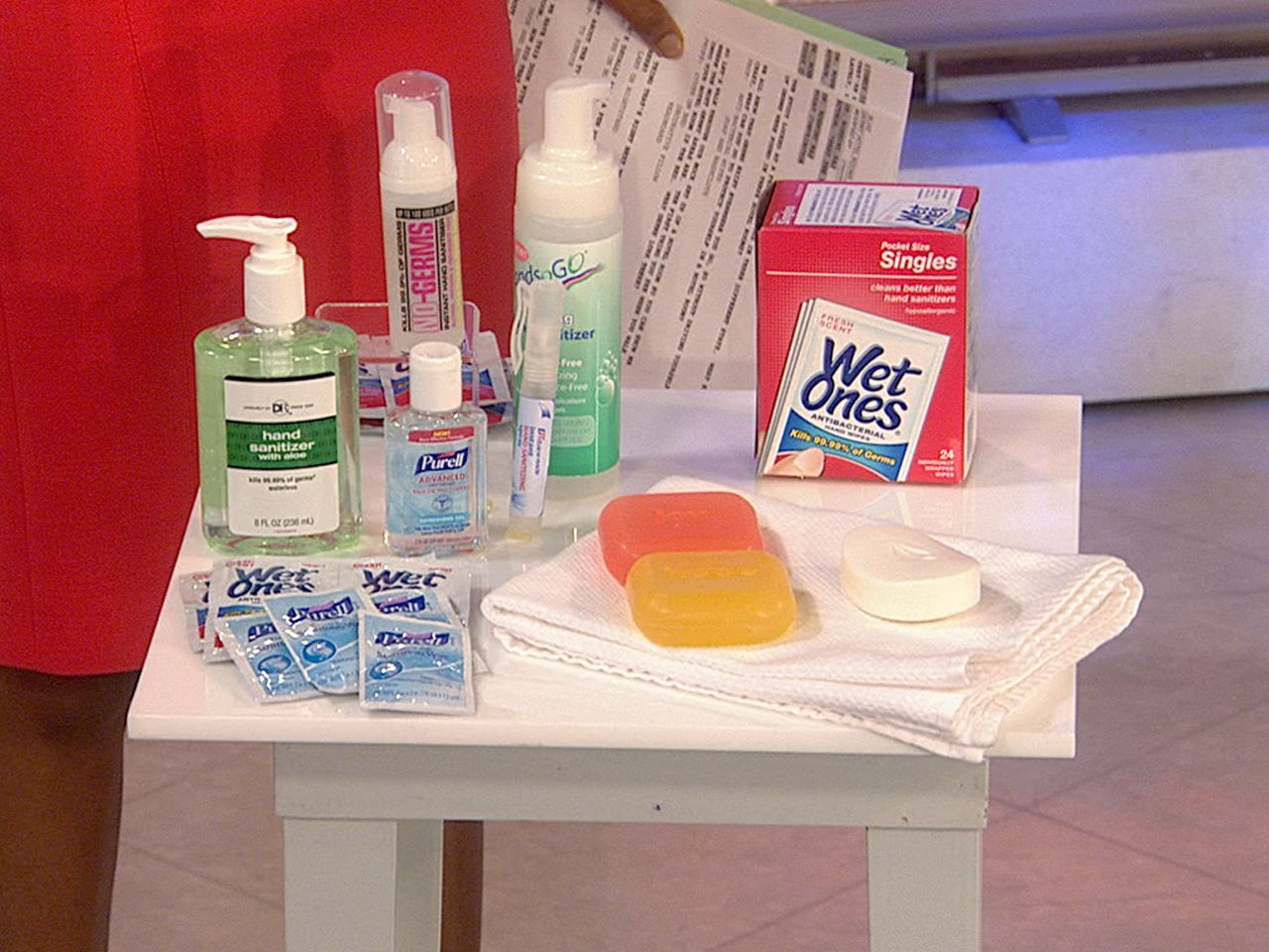 Protecting yourself from hotel room germs