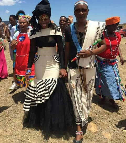 African Traditional Dresses, Xhosa Attire