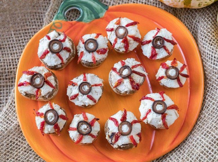 Halloween Rezepte für Fingerfood 13 Ideen für tolles