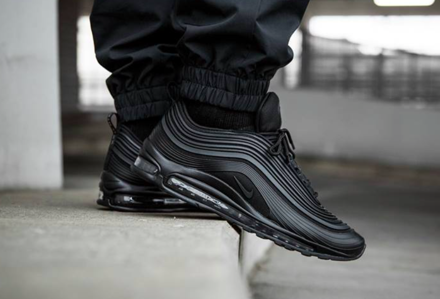 08ccd472260a Nike Air Max 97 Ultra 17 Premium Triple Black