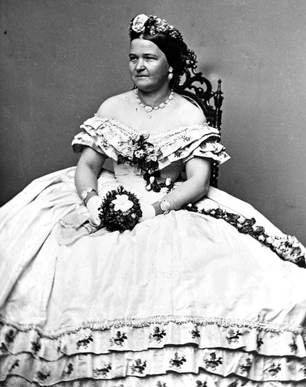 Mrs Lincoln Wife Of President Abraham Lincoln Civil