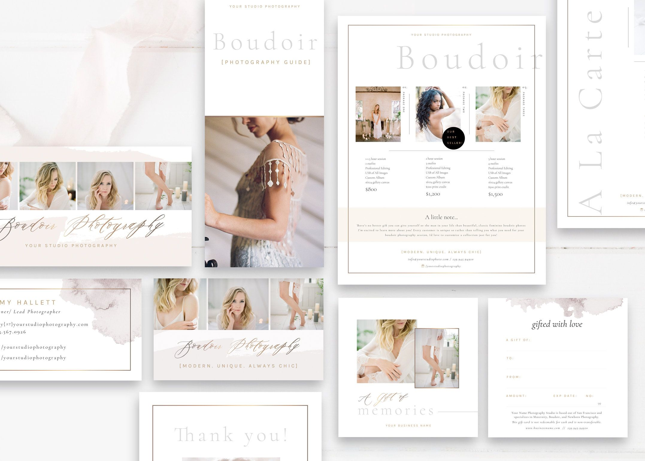 Printable Templates For Photographers Luxe Photography Etsy Photography Marketing Materials Photography Marketing Marketing Photos Free marketing template for photographers