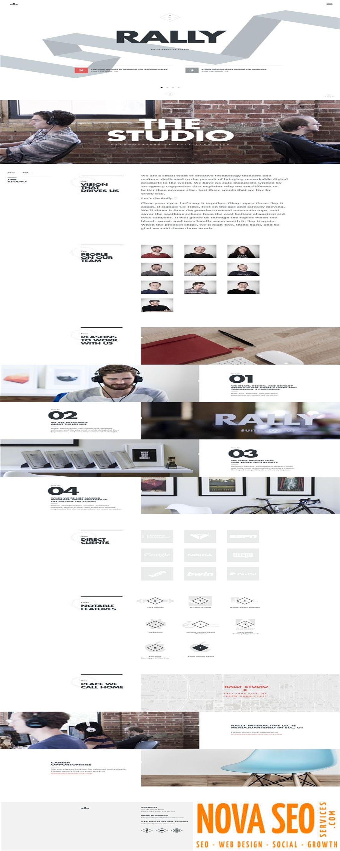 Uprank Stylish Marketing Agency Multipage Website Template Marketing Stylish Uprank Website Website Template Marketing Agency Website Template Design