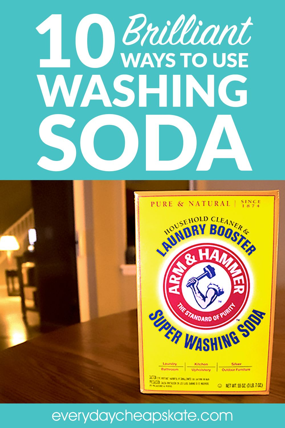 10 Brilliant Ways To Use Washing Soda That Will Make Your Life