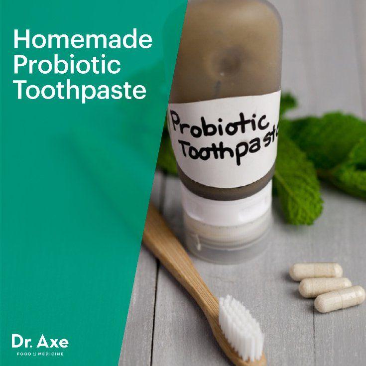 Homemade Probiotic Toothpaste Recipe Toothpaste Recipe