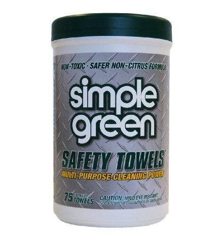 Simple Green 13351 Lint Free Polypropelyne Industrial Safety...