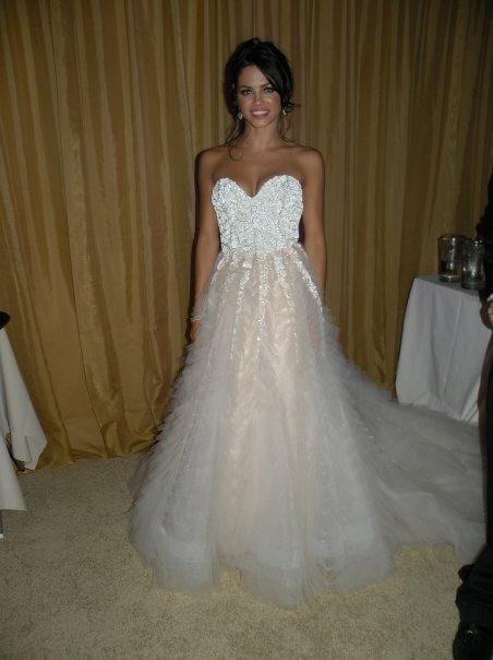 Jena Dewan Tatum Wedding Dress Celebrity Wedding Dresses