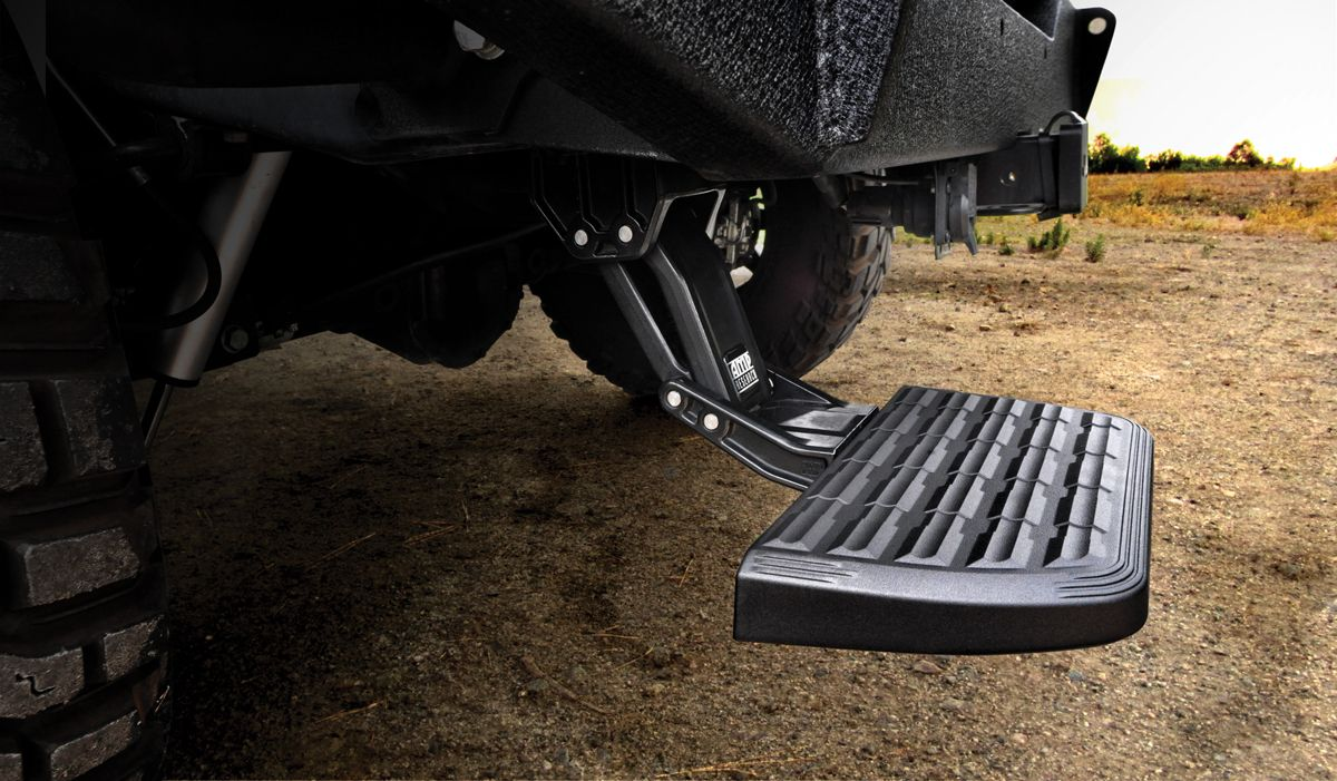 Dodge Ram 1500 AMP Research Trail Series BedStep