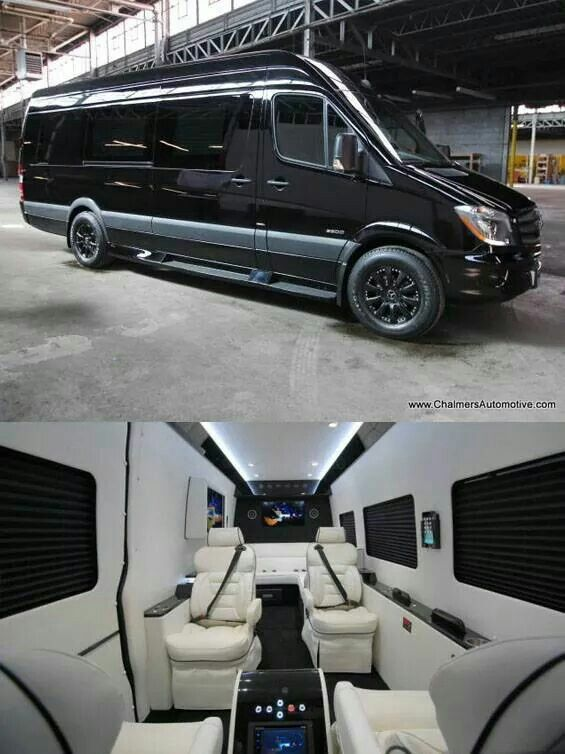 Custom Sprinter Van Luxury Van Mercedes Benz Vans Mercedes Van
