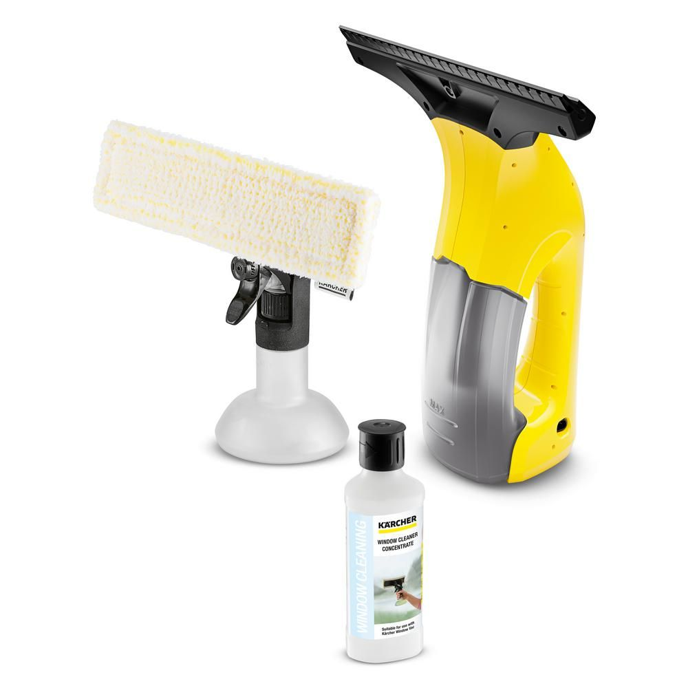 Karcher Wv 1 Plus 10 In Window Vacuum Squeegee With Handle 1 633 041 0 Window Cleaner Vacuums Window Squeegee