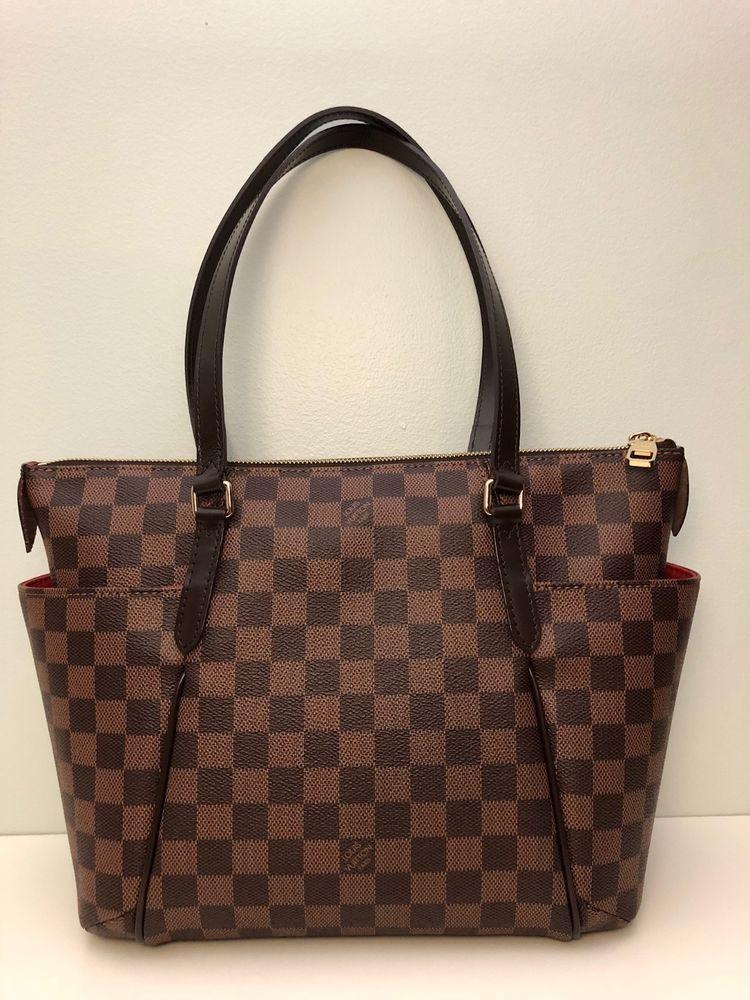 f4c0a1c5c963 Louis Vuitton Totally PM Damier Ebene Canvas  fashion  clothing  shoes   accessories  womensbagshandbags
