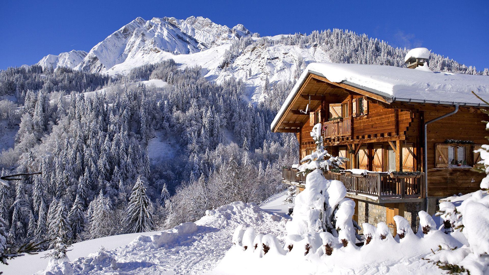 Chalet In Swiss Alps