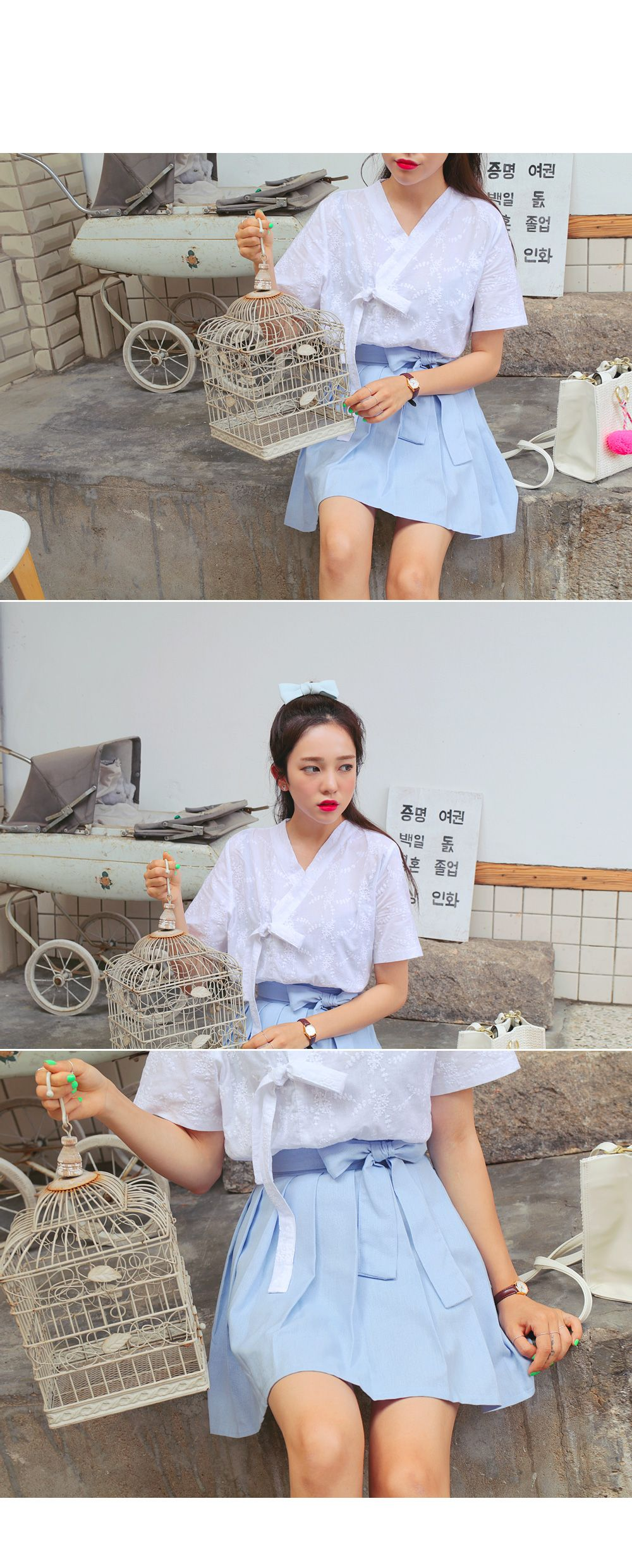 Hanbok inspired outfit hanbok aesthetic pinterest korean