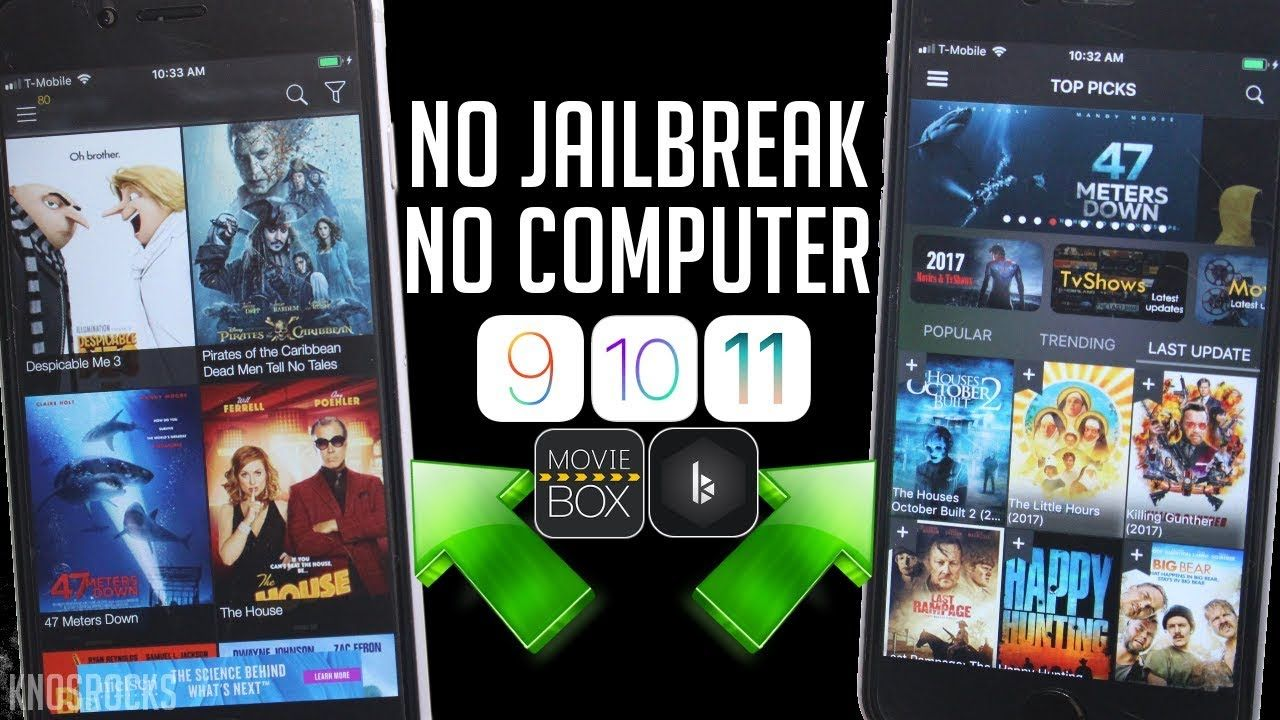 NEW!! Get Movie Box & Bobby Movie iOS 11 / 10 / 9 NO