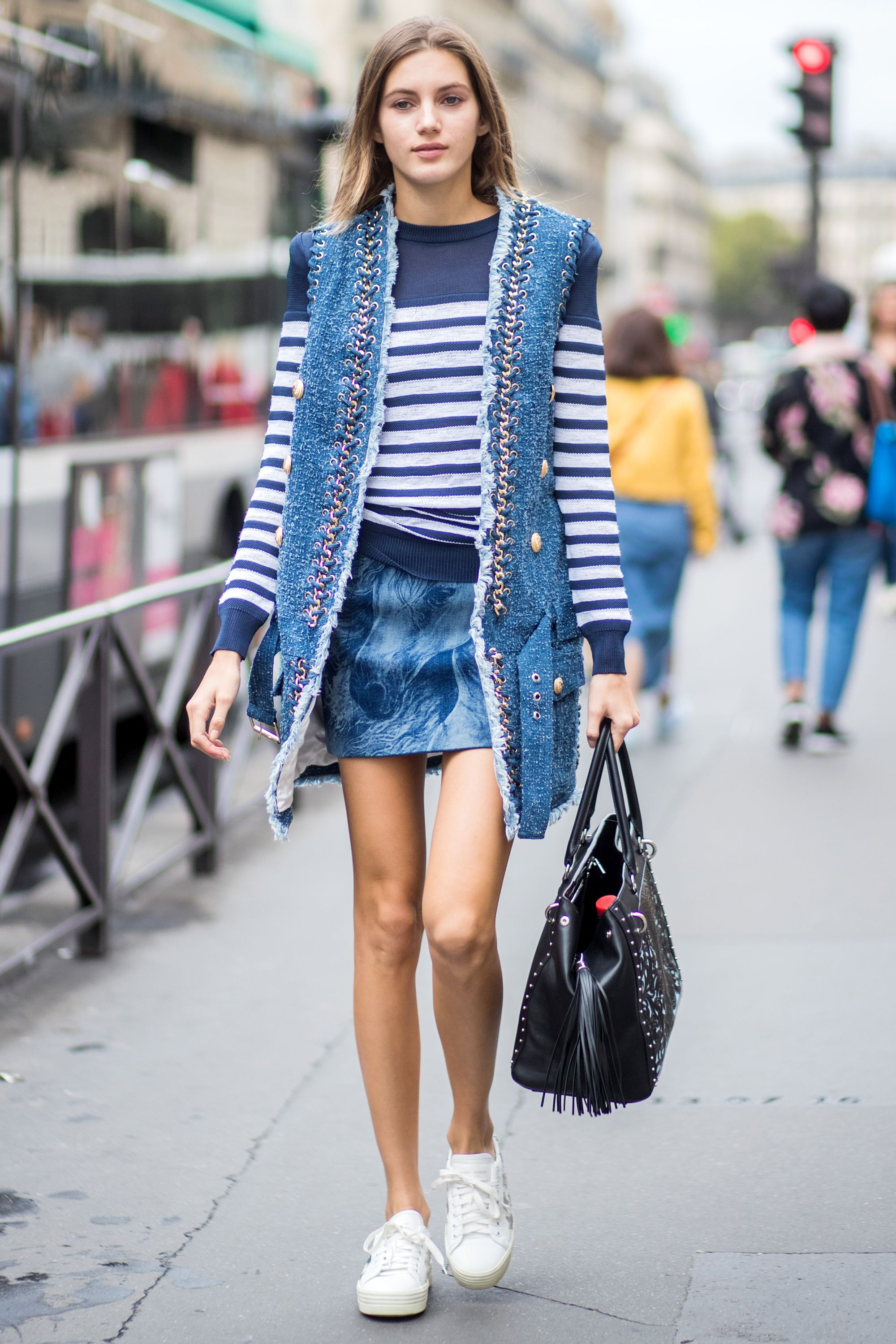 f31d52fe1 The 50 Best Fashion Tips of All Time - Stripe It Up from InStyle.com