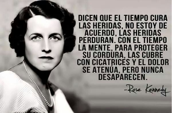 Rose Kennedy.