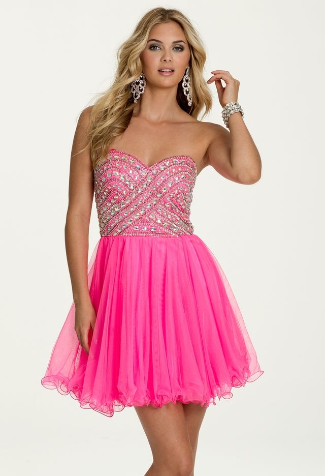 Beaded Sweetheart Tulle Party from Camille La Vie and Group USA ...
