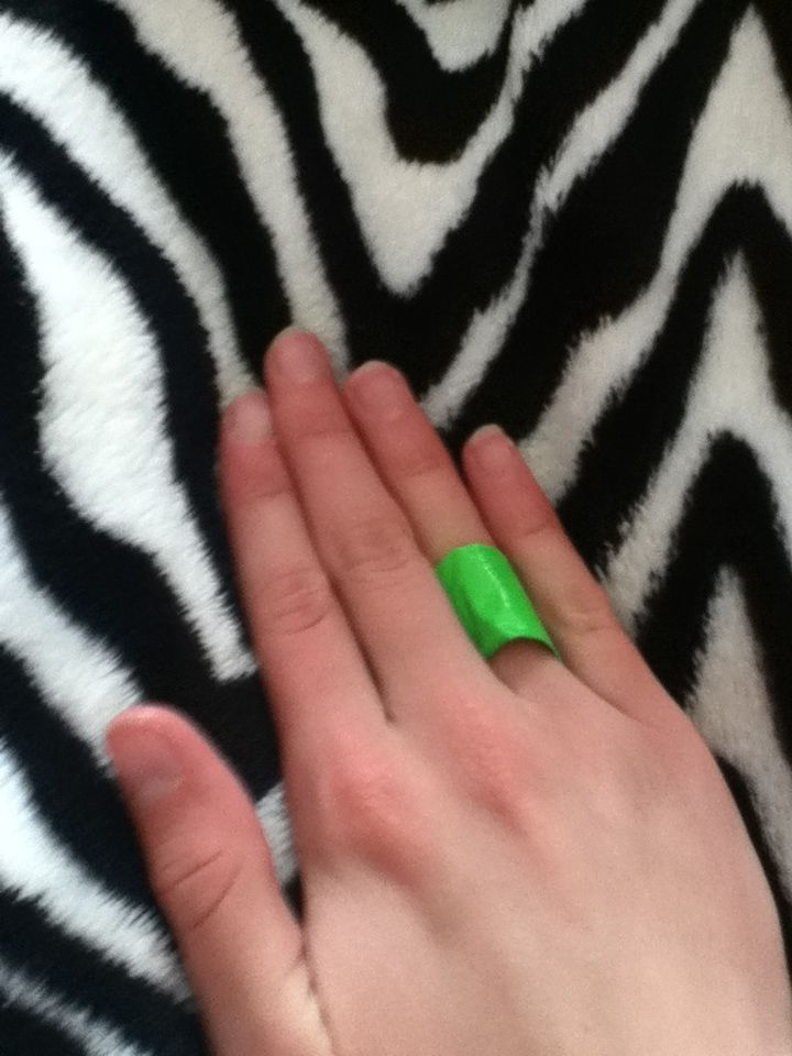 Duct tape ring