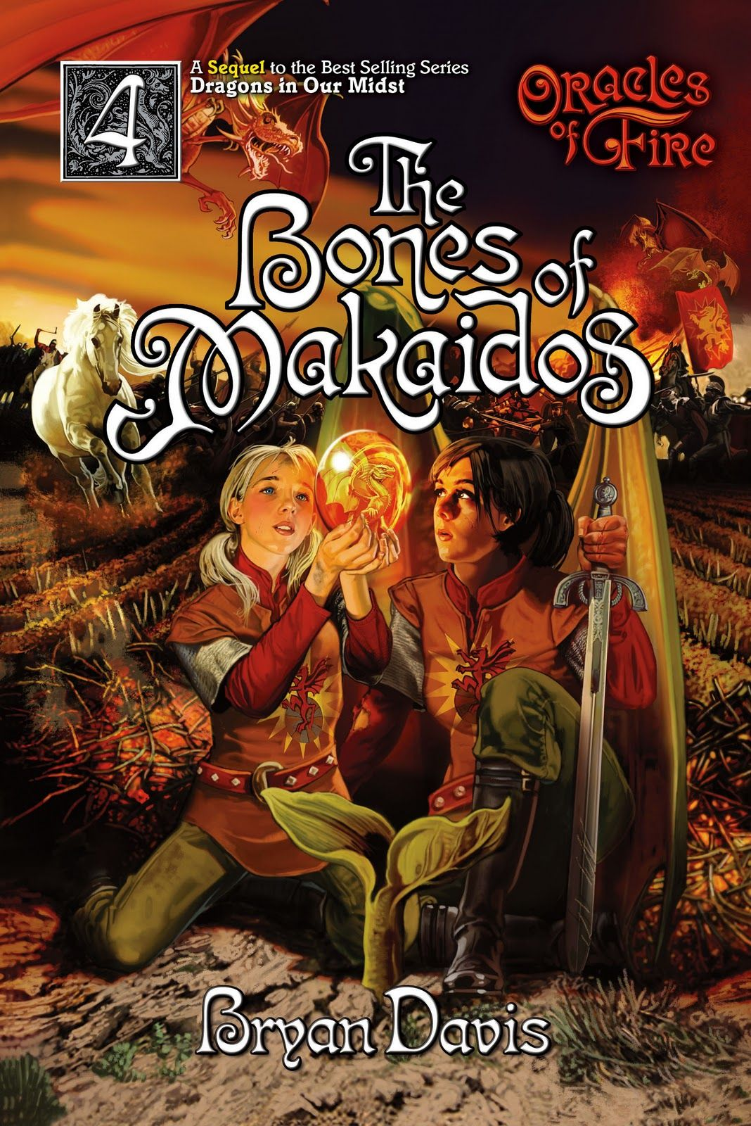The Bones Of Makaidos, Oracles Of Fire 4, By Bryan Davis The Perrrrrrfect