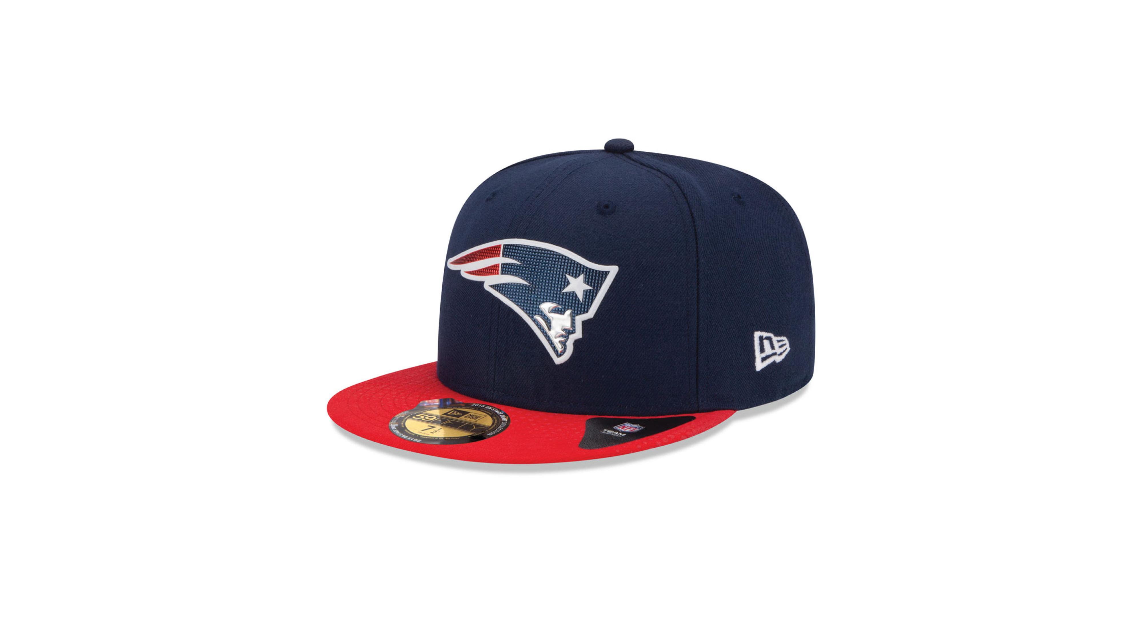 buy popular 74916 90a29 New Era New England Patriots 2015 Nfl Draft 59FIFTY Cap