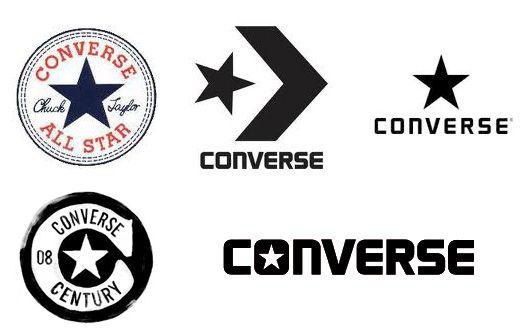 Converse history logos Logo Converse, Logos rétro, Logo  Converse logo, Retro logos, Logo