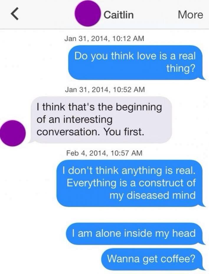 Reddit conversations tinder sexting See you