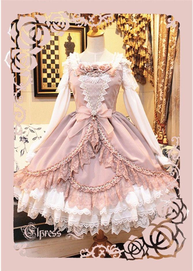 Elpress L ~ Lolita Dress   dresses all the way   Pinterest   Moda ...