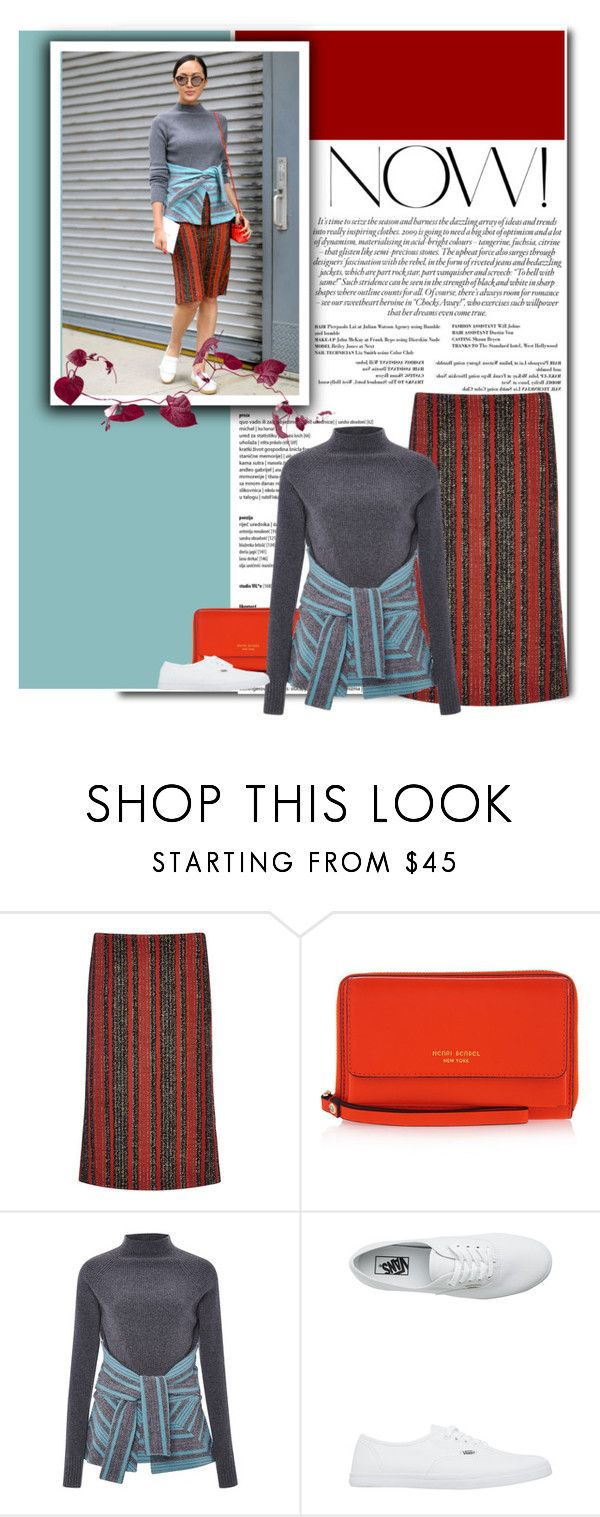 """""""805"""" by melanie1123 ❤ liked on Polyvore featuring Thakoon, Henri Bendel and Vans"""