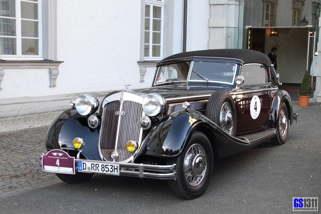 Awesome Vintage Car, Hot Rod, Rat Rod, 1935 Horch 853 Sport ...
