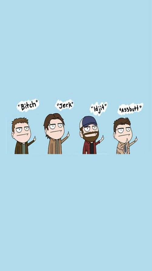 Pin By Marin On Fan Page Supernatural Wallpaper Supernatural Funny Supernatural Tumblr