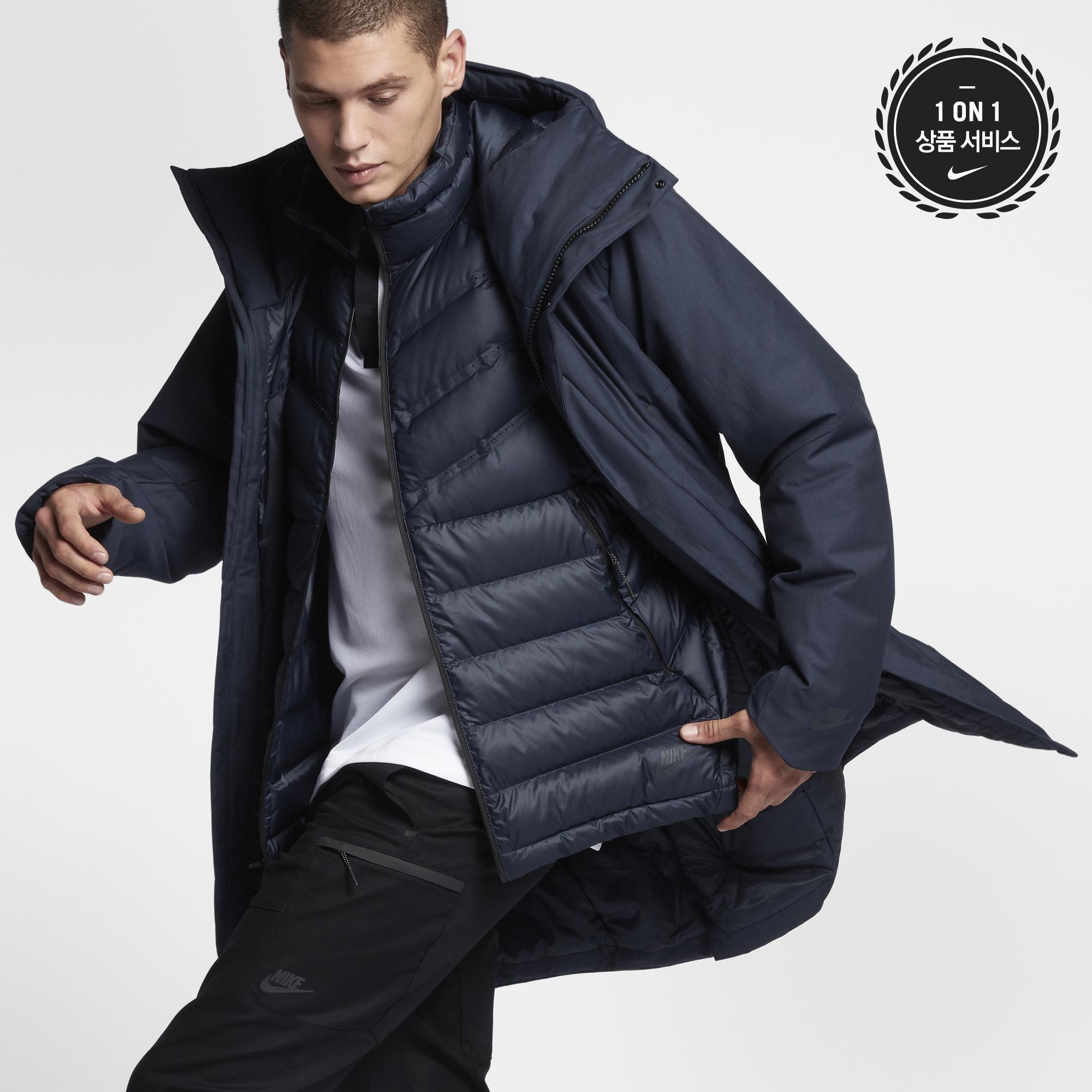 [Nike] 나이키 스포츠웨어 에어로로프트 쓰리인원 재킷 남성 자켓, 나이키 테크, 나이키