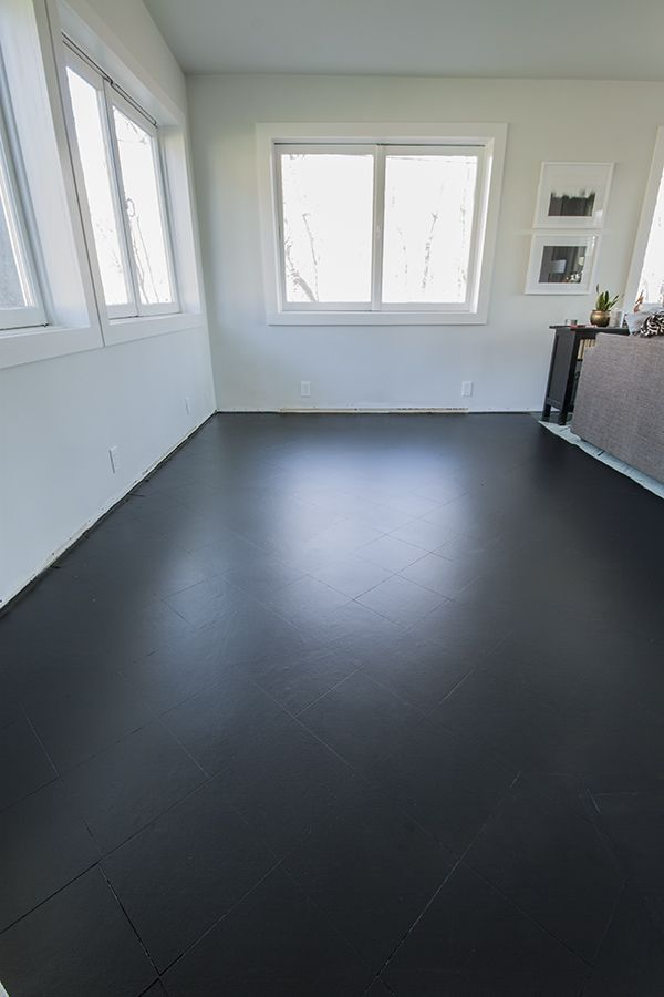 PAINTING THE LIVING ROOM FLOOR TILES: PART I | dream homes ...