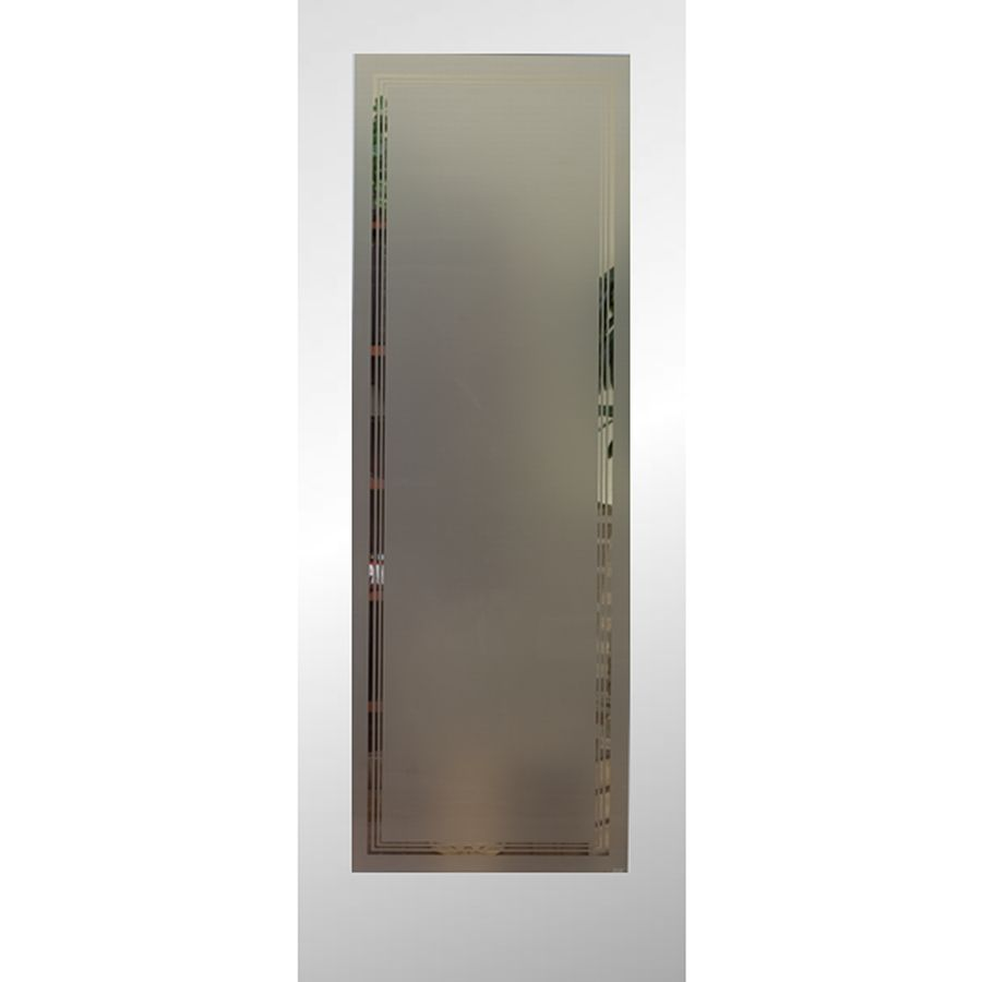 Shop Reliabilt 1 Lite Solid Core No Skin Non Bored Frosted Interior Slab Door Common 24 In X 80 In Actual 24 In X 80 Inches At Lowes Com With Images Slab Door