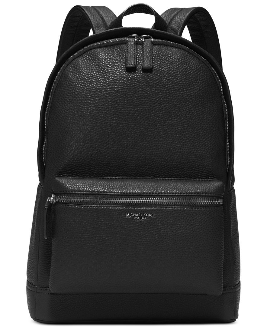 Michael Kors Bryant Pebble Leather Backpack http   ebagsbackpack.tumblr.com  48490cac4f118