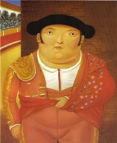 FIGURATIVE ART PRINT Mother Superior Fernando Botero