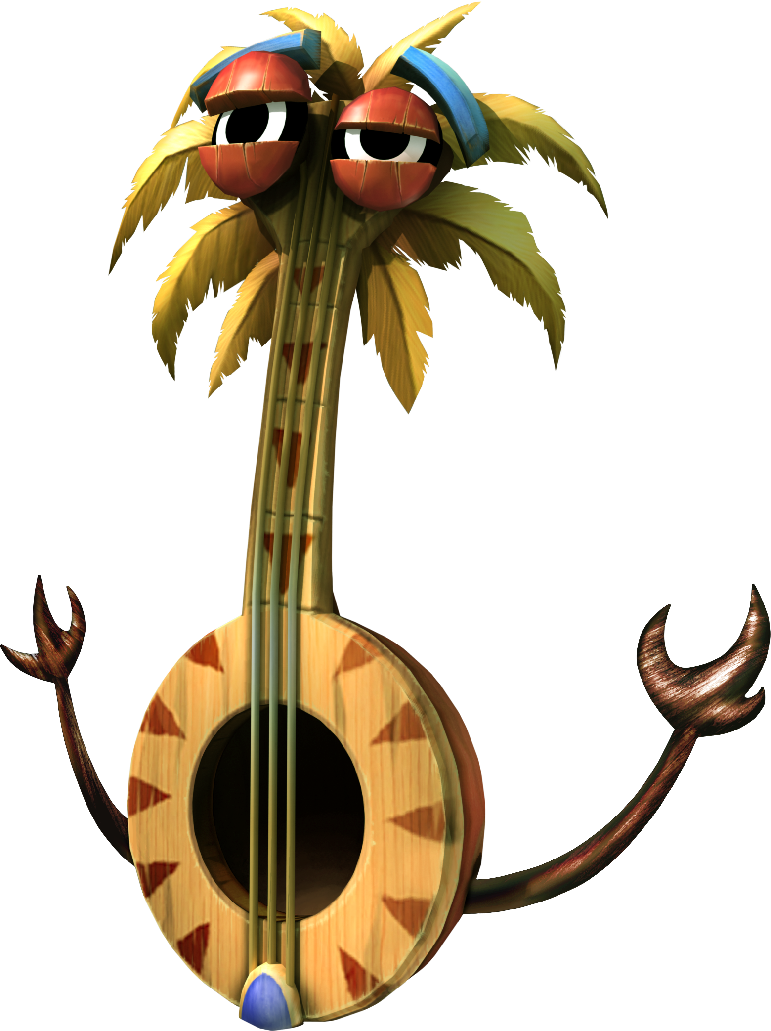 Banjo Tiki | Donkey kong, Banjos and Donkeys