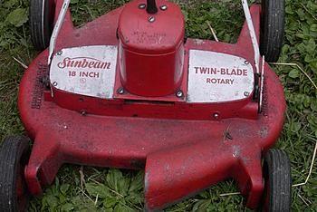 1968 Sunbeam Twin Blade Electric Mower Lawn Mower Electric Mower Lawn Mower Tractor