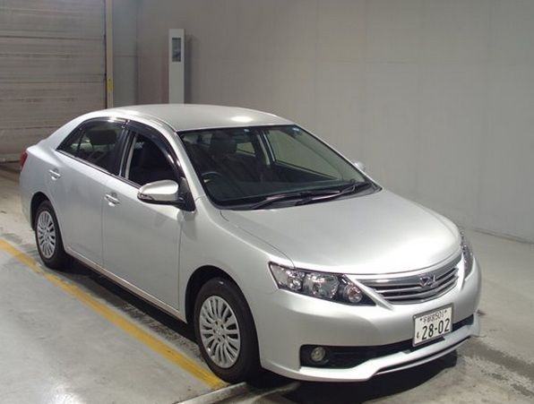 Toyota Allion Car Id Saf Toyota Sedan Toyota