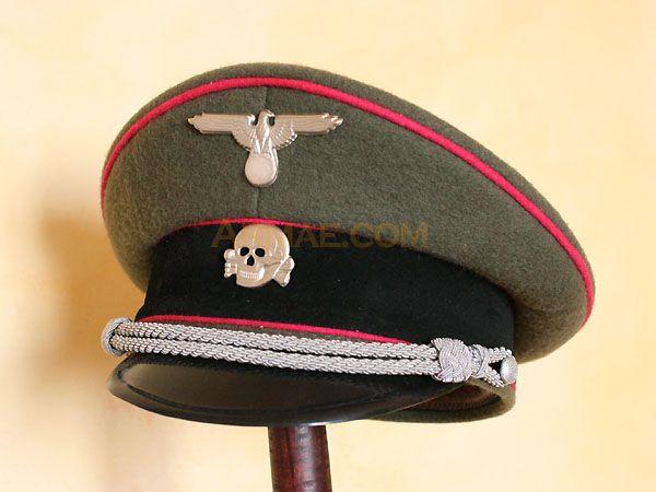 Casquette d'officier, tankiste | Coiffes militaires