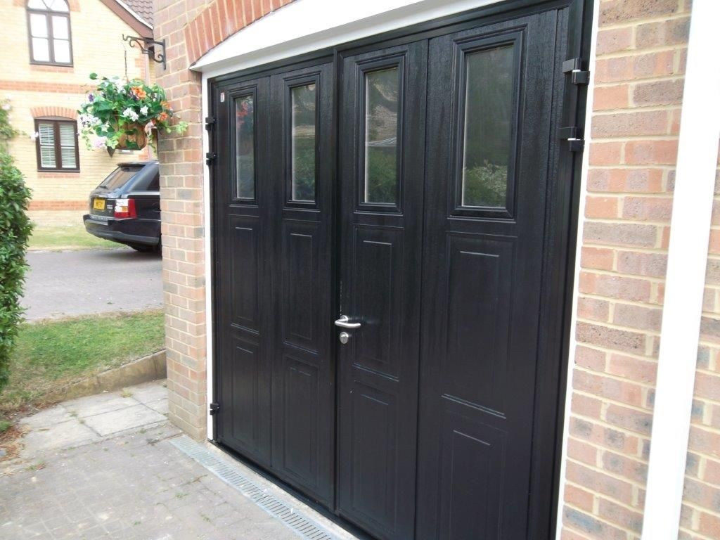 Side Hung Garage Doors Upvc With Regard To Motivate Http