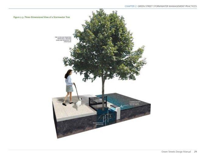 Philadelphia Stormwater Tree 2 Green Street Tree Design Pinterest Green Street