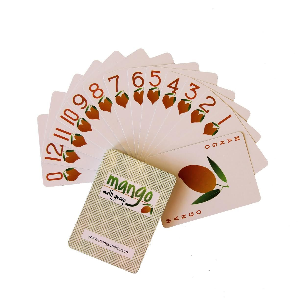 Mango Playing Cards Set Of 12