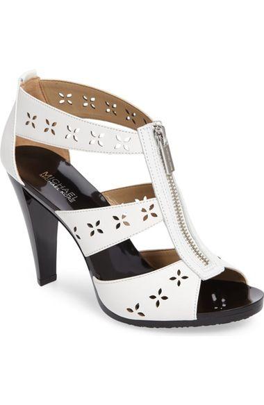 MICHAEL MICHAEL KORS Berkley Floral Zipper Sandal (Women). #michaelmichaelkors #shoes #sandals