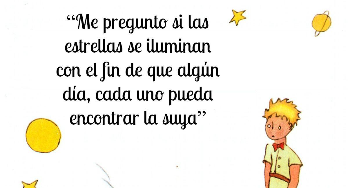OCTAVA FRASE EL PRINCIPITO
