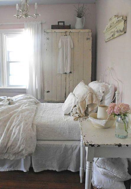 Shabby Chic Cosas de decoracion Pinterest Dormitorio - decoracion recamara vintage