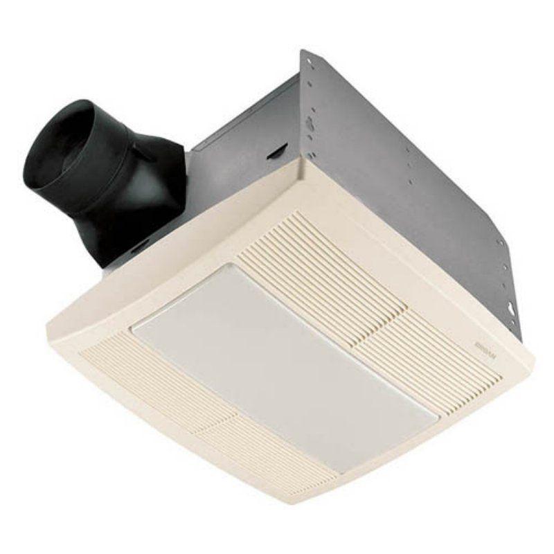 Broannutone Qtre080Flt Ultra Silent Bathroom Fan  Light  Night Best Bathroom Fan With Light 2018