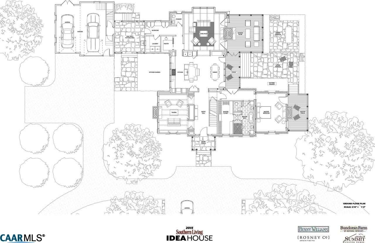 Southern Living Idea House 2015 Plans. southern grace charm ...