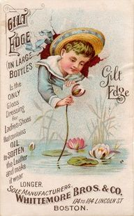 Awesome antique advertisement
